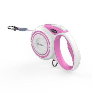 Smart Retractable Leash Medium/4M - Pink