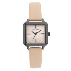 Women's Blush Leather Strap Watch