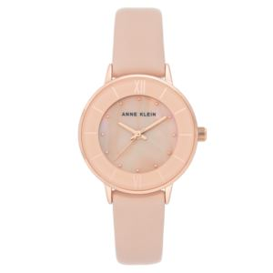 Women's Blush Pearl Leather Watch