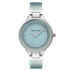 Women's Shimmering Mint Bangle Watch