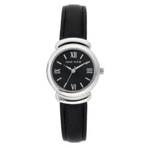 Women's Black Leather Watch