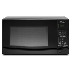 0.7 cu ft Countertop Microwave Oven - Black