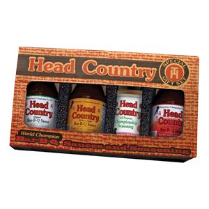 Head Country 4 Pc. BBQ Giftpack