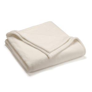 Sheared Mink Full Queen Blanket - (Ivory)