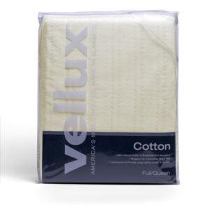 Cotton Woven Full/Queen Blanket - (Ecru)
