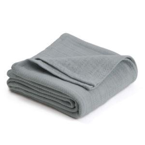 Cotton Woven King Blanket - (Gray Mist)