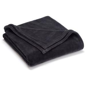 Sheared Mink Full Queen Blanket - (Charcoal)