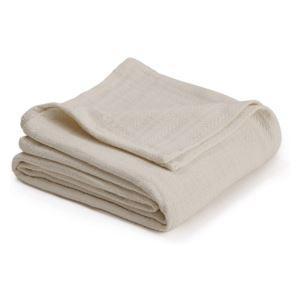 Cotton Woven King Blanket - (Ecru)
