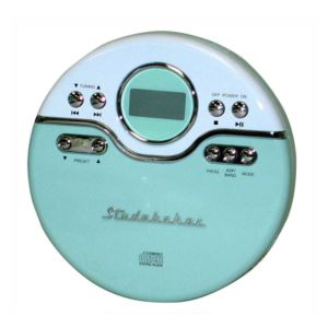 Joggable Personal CD Player with Anti Skip and FM PLL Radio