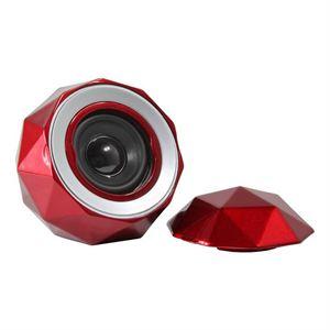 Lyrix PowerBall Bluetooth Speaker-Red