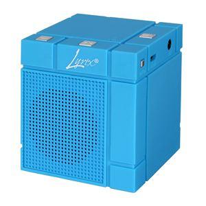 Lyrix Mixx Bluetooth Speaker-Blue