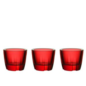Bruk Anything Bowl deep red set of 3