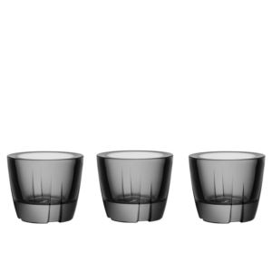 Bruk Anything Bowl smoke grey set of 3