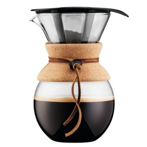 8 Cup Pour Over Coffeemaker w/ Cork Band