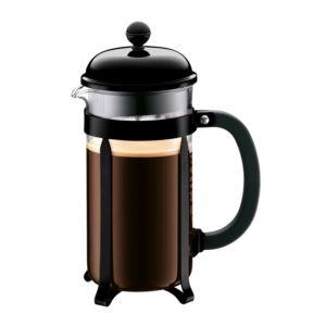Chambord 8 Cup French Press Coffeemaker Black