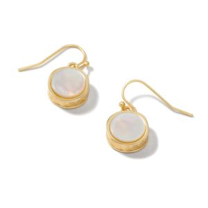Naia Petite Mother-of-Pearl Earrings