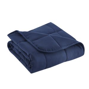 Microfiber Travel Weighted Throw 5 lb