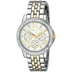 Women's Layla Silver and Gold Tone Watch