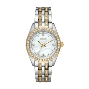 Women's Iva Two-Tone Stainless Steel Pave Glitz Watch