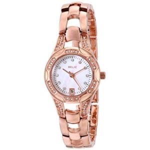 Relic Women's Charlotte Rose Gold Tone Stainless Steel Watch