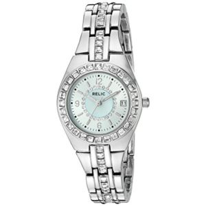 Relic Women's Queens Court Analog Display Analog Quartz Silver Tone Watch