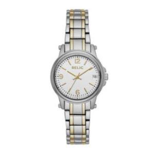 Womens Two-Tone Zr34347 Bracelet Watch