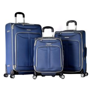 Tuscany 3 Piece Spinner Set Blue