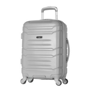 "Olympia USA Denmark 21"" Expandable Hardcase Carry-On"", Silver"