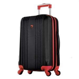 "Olympia USA Apache II 21"" Expandable Hardcase Carry-On"", Black/Red"