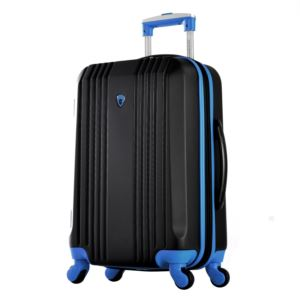 "Olympia USA Apache II 21"" Expandable Hardcase Carry-On"", Black/Blue"