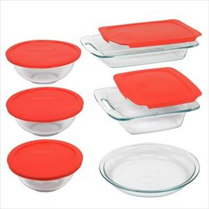 Easy Grab 11-Pc Bake-n-Store Set