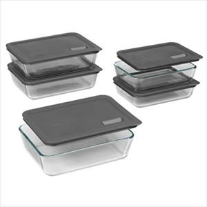 No Leak Lid 10-Pc Rectangle Set