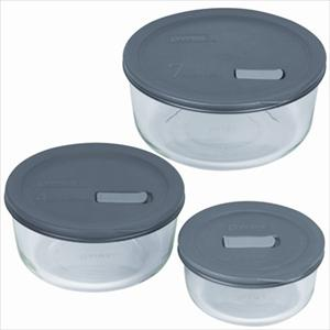 No Leak Lids 6-Pc Storage Set