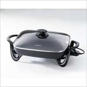 """16"""" Electric Skillet w/glass cover"""