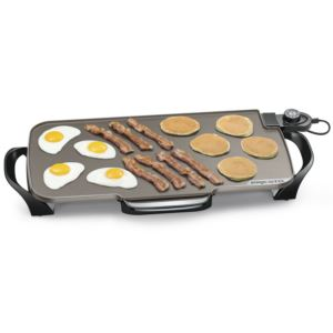 "22"" Electric Ceramic Griddle w/removable handles"