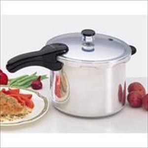 6-Qt Aluminum Pressure Cooker