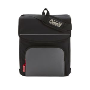 34 Can Collapsible Soft Cooler Black