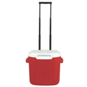 16 Qt Performance Wheeled Cooler Red
