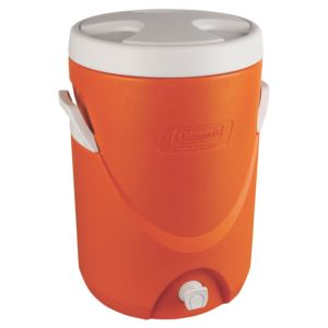 5 Gallon Beverage Cooler Orange