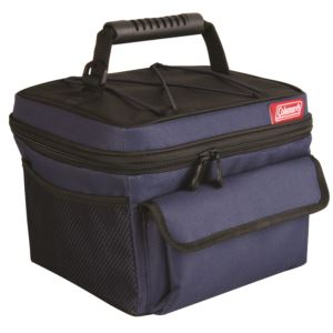 10 Can Rugged Lunch Cooler Blue/Black