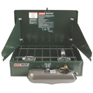2-Burner Dual Fuel Stove