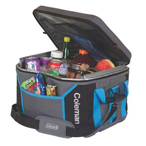 45 Can Sport Collapsible Cooler Black