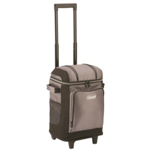 42 Can Wheeled Soft Cooler Gray