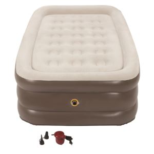 SupportRest Plus PillowStop Double High Twin Airbed w/ 120V Pump