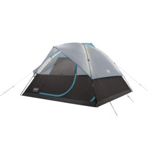 OneSource Rechargeable 4 Person Dome Tent w/ Airflow & LED