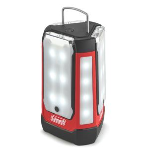LED 3 Panel 600 Lumen Lantern Red