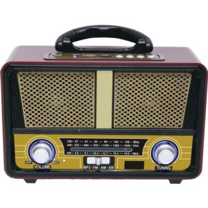 AM FM MP3 SW Bluetooth Retro Radio