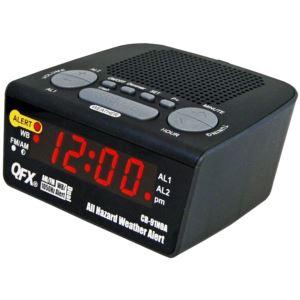 Weather Alert Clock Radio