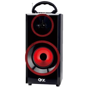 Bluetooth Boombox Red