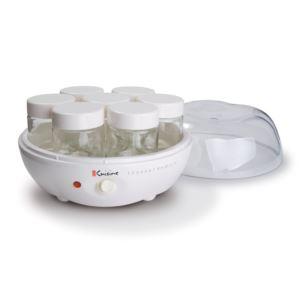 Yogurt Maker; w/7- 6oz Glass Jars